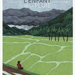 couv de éditions FRIMOUSSE, L'Enfant de la pluie de Sandra LE GUEN et Olivier POG, illustré par Juliette BARBANEGRE