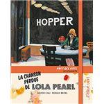 couv La Chanson perdue de Lola Pearl - Edward Hopper</em> de Ronan BADEL, illustré par Davide CALI, éditions de l'ELAN VERT