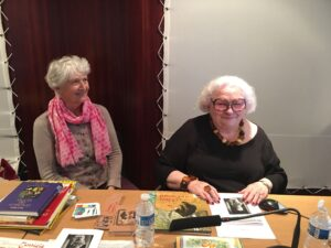 portrait de May ANGELI (à gauche) et Janine KOTWICA