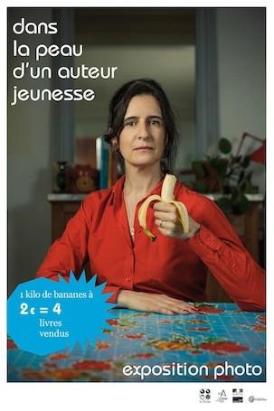 affiche La Charte des auteurs et illustrateurs jeunesse Dorothée de Monfreid