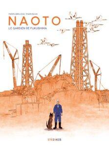 Couv de Naoto, le gardien de Fukushima de Fabien Grolleau incité de Florence Dutheil dans Enfantillages