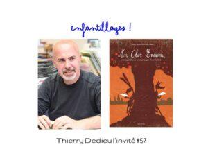 Thierry Dedieu est l'invité de Florence Dutheil dans son magazine Enfantillages