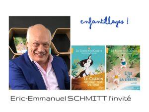 Eric-Emmanuel Schmitt invité de Florence Dutheil dans Enfantillages